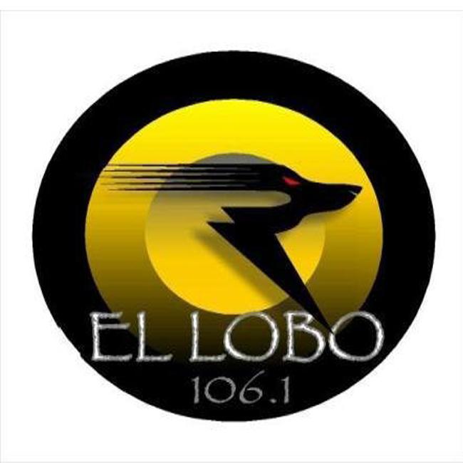 Logotipo de El Lobo 106.1 FM