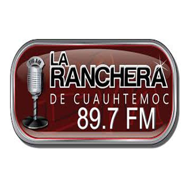Logotipo de La Ranchera de Cuauhtemoc 89.7 FM