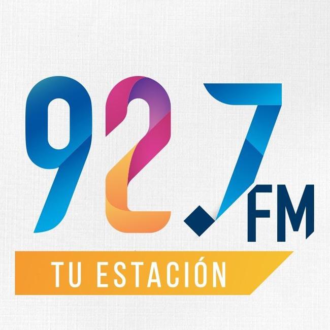 Logotipo de 92.7 FM Tu Estación