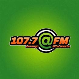 Escuchar en vivo Radio Arroba 107.7 FM de Durango