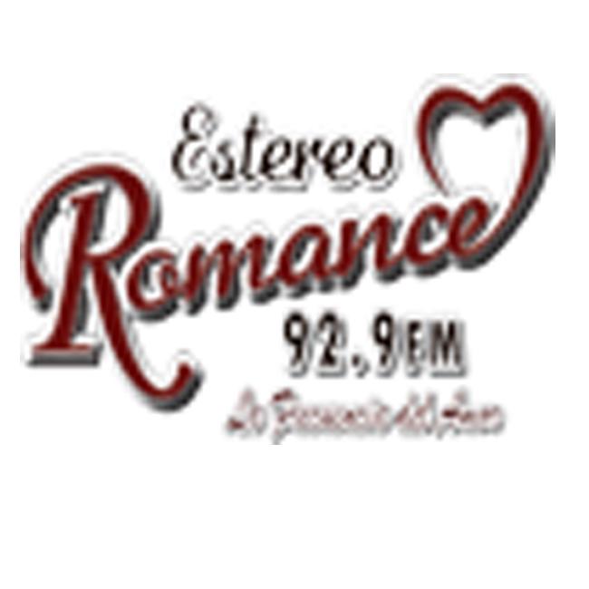 Logotipo de Estéreo Romance 92.9 FM