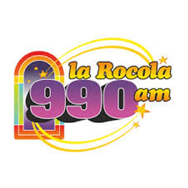 Logotipo de La Rocola 990 AM