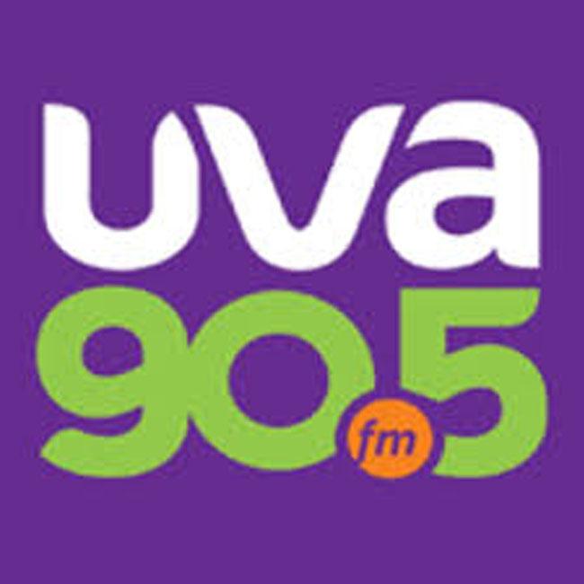 Logotipo de UVA 90.5 FM