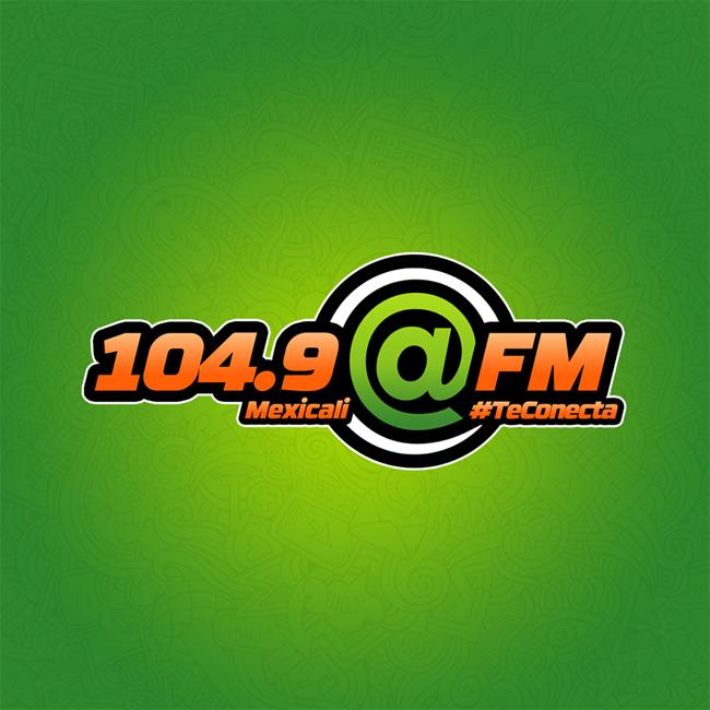 Logotipo de 104.9 Arroba FM