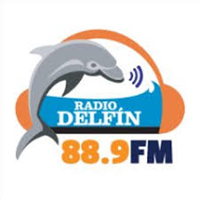 Logotipo de Radio Delfin 88.9 FM