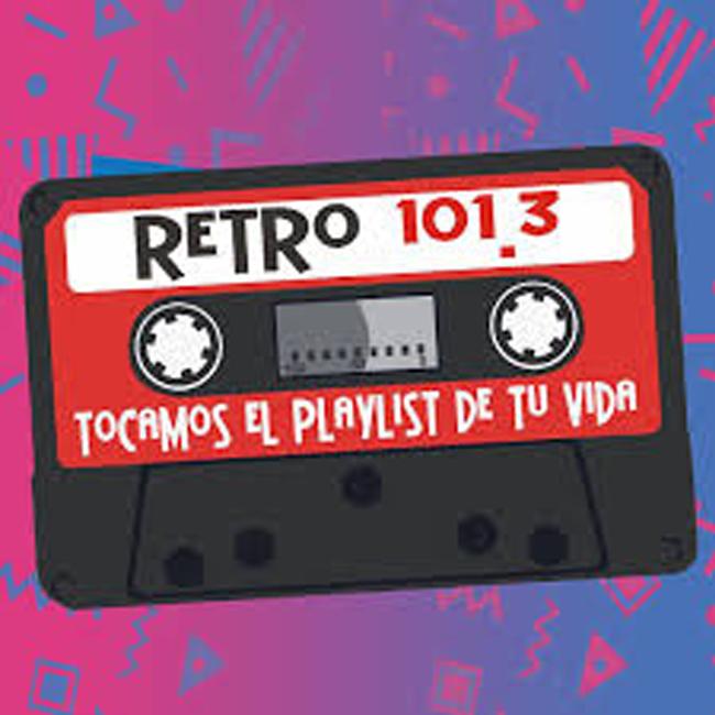 Logotipo de Retro FM Ciudad del Carmen 101.3 FM