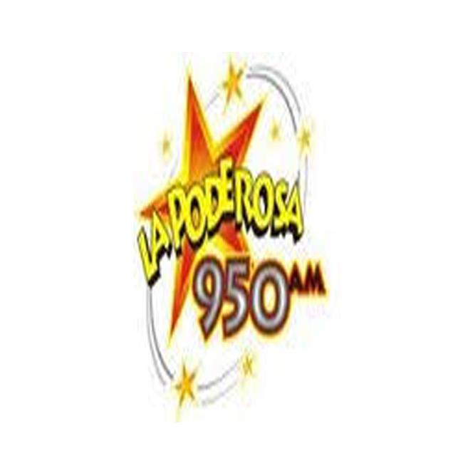 Logotipo de La Poderosa 950 AM