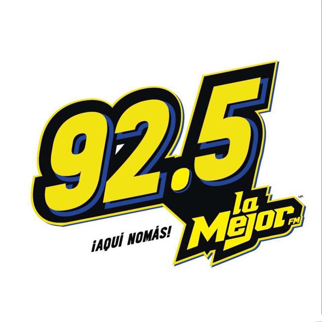 Logotipo de La Mejor 92.5 FM