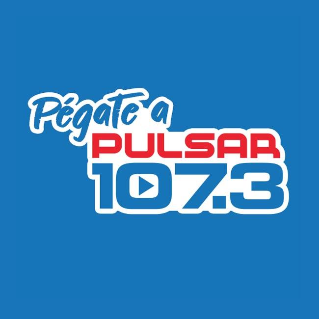 Logotipo de Pulsar 107.3 FM