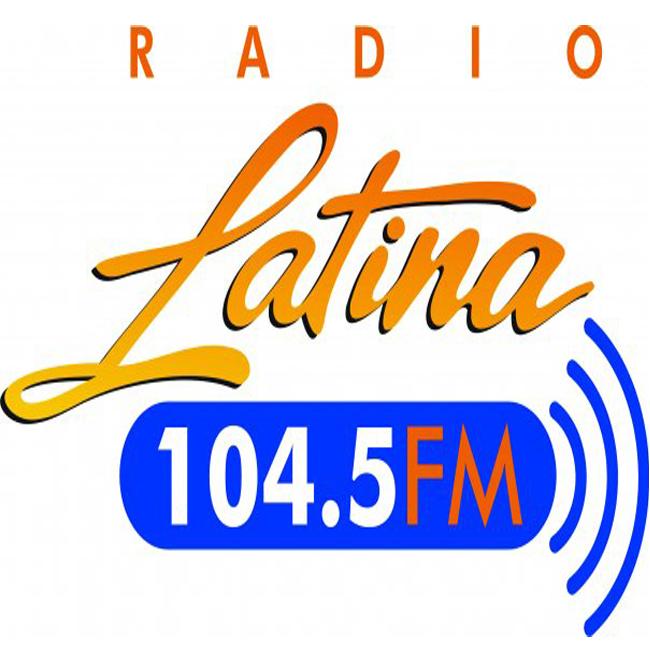 Logotipo de Radio Latina 104.5 FM