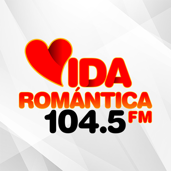 Logotipo de Radio Romántica 104.5 FM