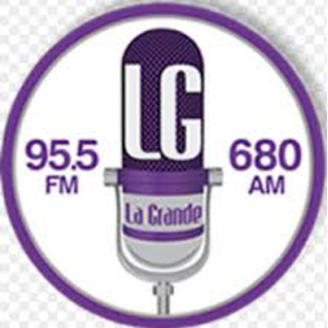 Logotipo de LG La Grande 95.5 FM
