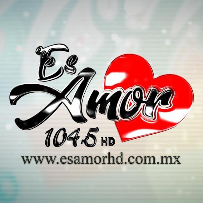 Logotipo de Es Amor 104.5 HD