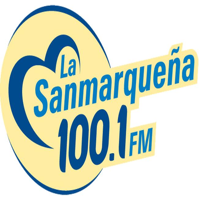 Logotipo de La Sanmarqueña 100.1 FM