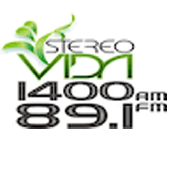 Logotipo de Stereo Vida 89.1 FM
