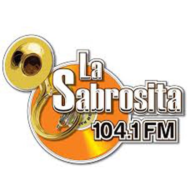 Logotipo de La Sabrosita 104.1 (Ciudad Cuauhtemoc)