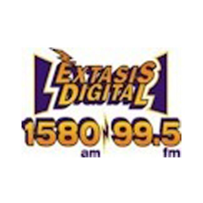 Logotipo de Éxtasis Digital 99.5 FM