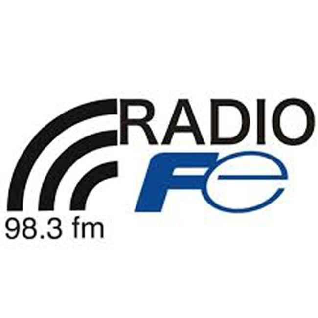 Logotipo de Radio Fe bonita 98.3 FM