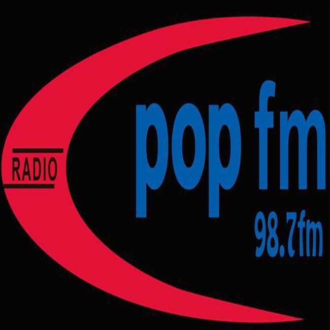 Logotipo de Pop FM 98.7