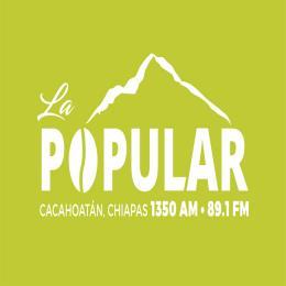 Escuchar en vivo Radio La Popular 89.1 FM de Chiapas