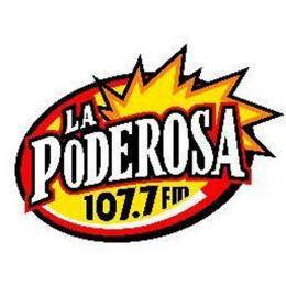 Escuchar en vivo Radio La Poderosa 107.7 FM de Aguascalientes