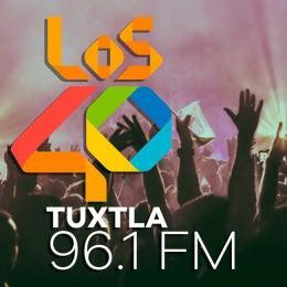 Escuchar en vivo Radio 40 Principales 96.1 FM de Chiapas
