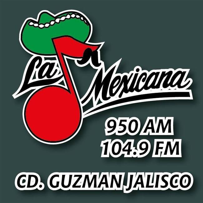 Logotipo de La Mexicana Ciudad Guzmán 104.9 FM