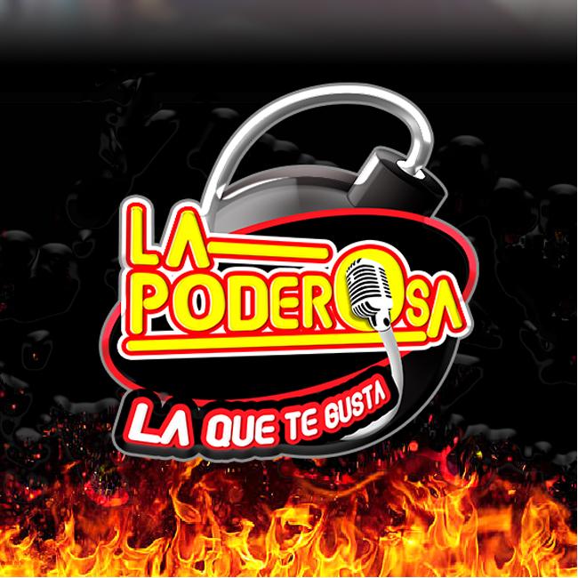 Logotipo de La Poderosa 94.3 FM