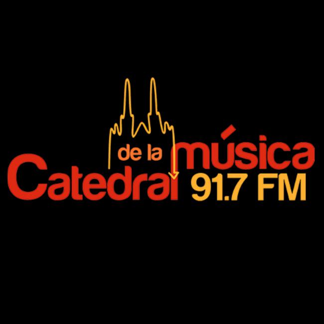 Logotipo de La Catedral de la Música 91.7 FM