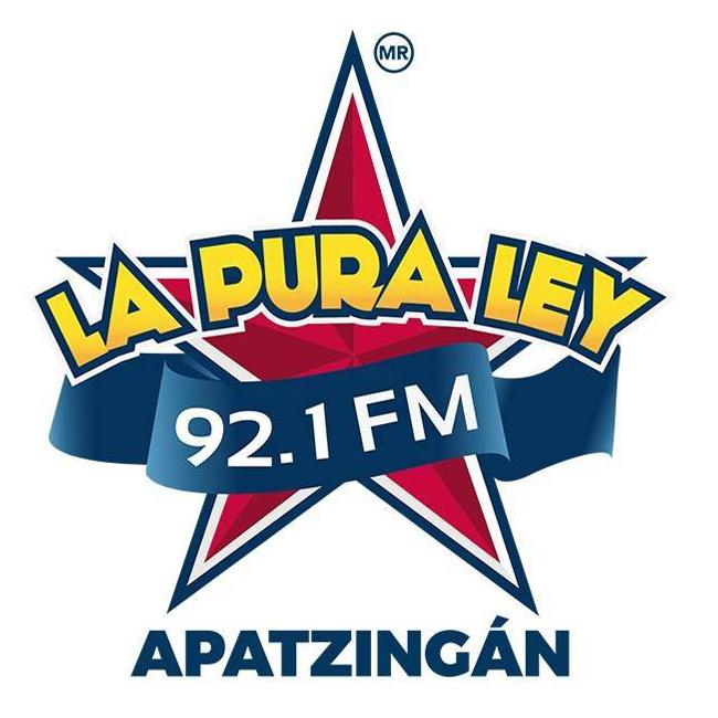 Logotipo de La Pura Ley 92.1 FM