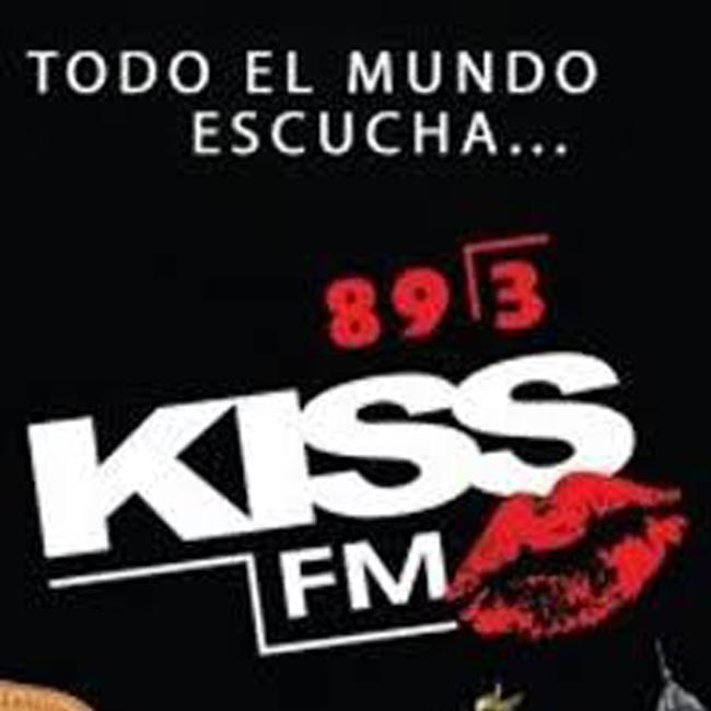 Logotipo de Kiss FM 89.3 FM