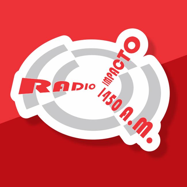 Logotipo de Radio Impacto 1450 AM