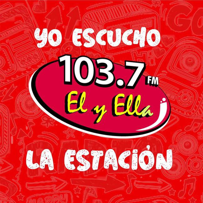 Logotipo de Él y Ella 103.7 FM y 950 AM