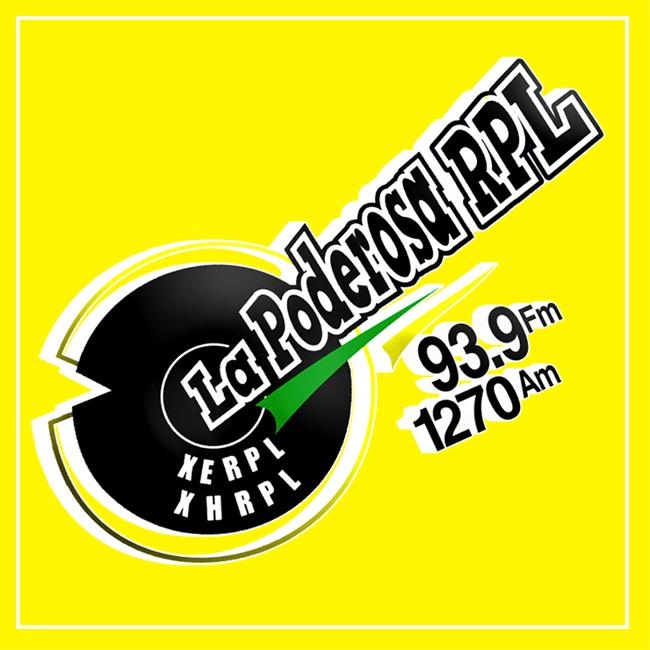 Logotipo de La Poderosa 93.9 FM
