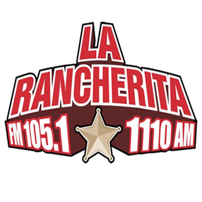 Logotipo de La Rancherita 1110 AM y 105.1 FM