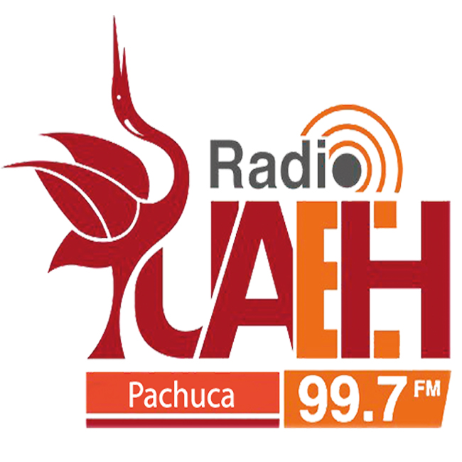 Logotipo de Radio Universidad 99.7 Pachuca