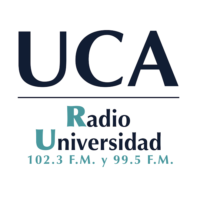Logotipo de Radio Universidad 102.3 FM