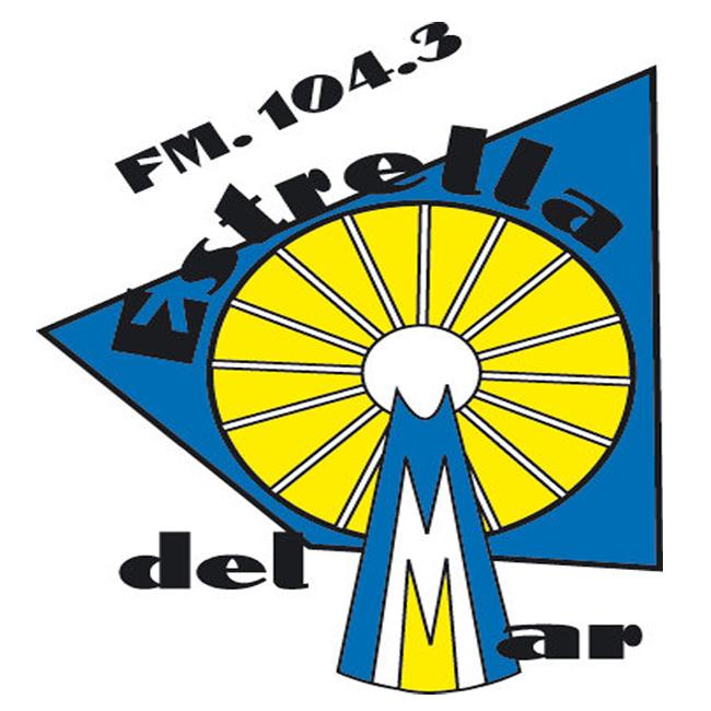 Logotipo de Radio Estrella del Mar 104.3 FM
