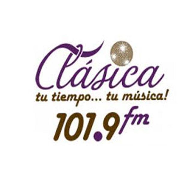 Logotipo de Clásica 101.9 FM