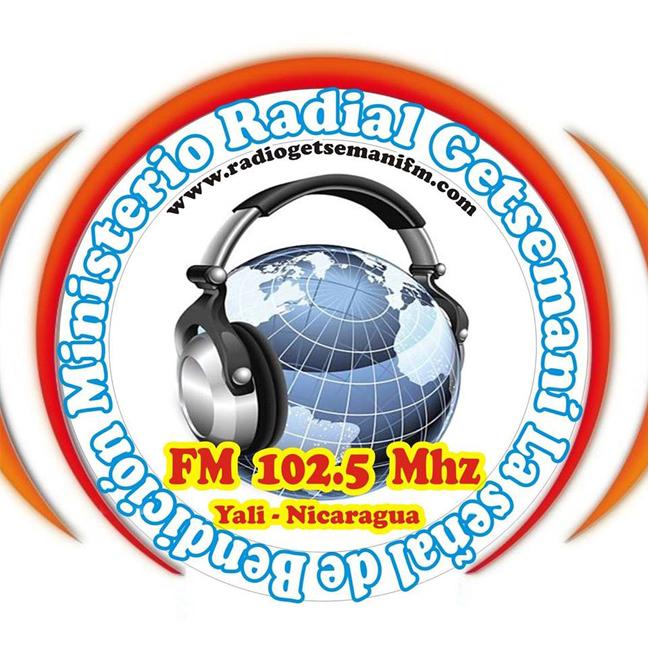 Logotipo de Estéreo Getsemani 102.5 FM