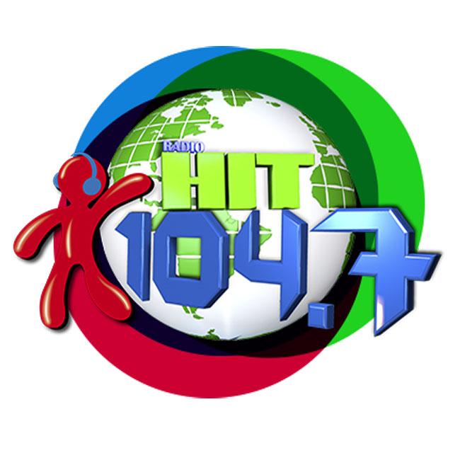 Logotipo de Radio Hit 104.7 FM
