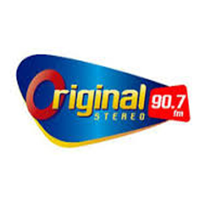 Logotipo de Original Stereo 90.7 FM Santiago