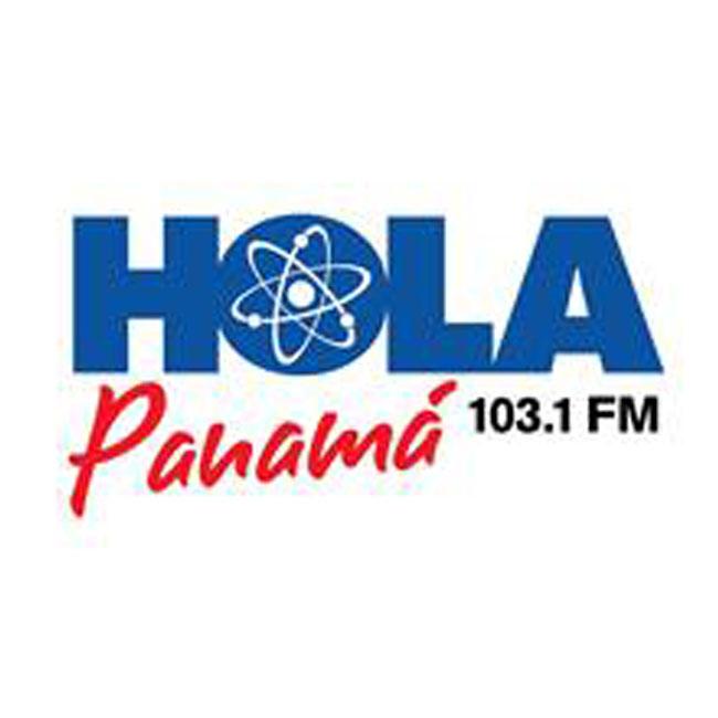 Logotipo de Hola Panamá 103.1 FM