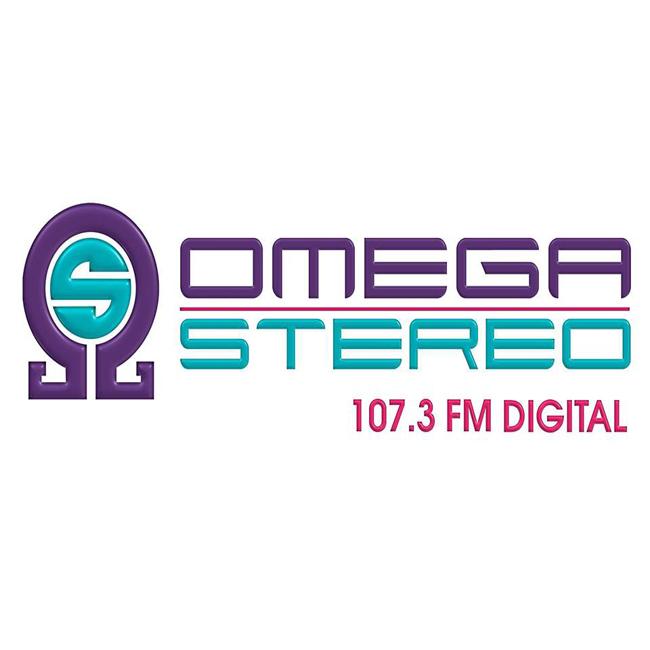 Logotipo de Omega Stereo 107.3 FM