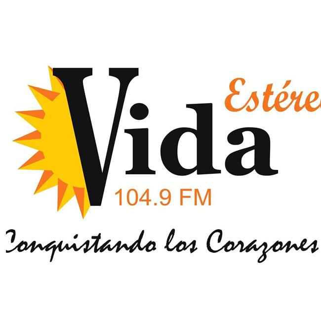 Logotipo de Estéreo Vida 104.9 FM