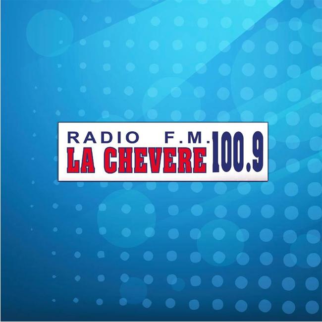 Logotipo de Radio La Chevere 100.9 FM