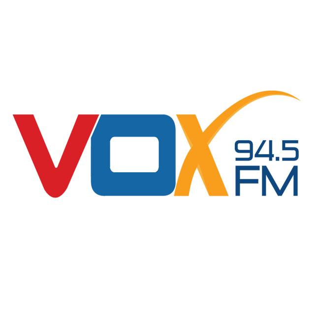 Logotipo de Vox 94.5 FM