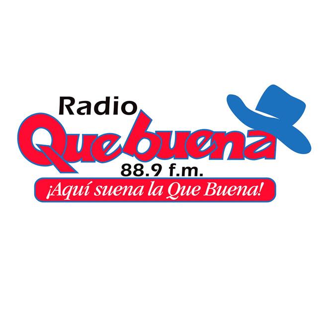 Logotipo de Radio Que Buena 88.9 FM