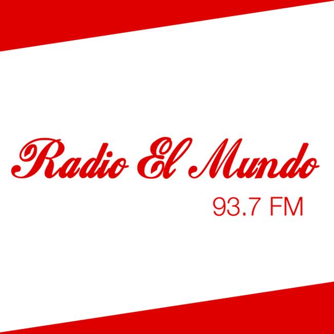 Logotipo de Radio El Mundo 93.7 FM