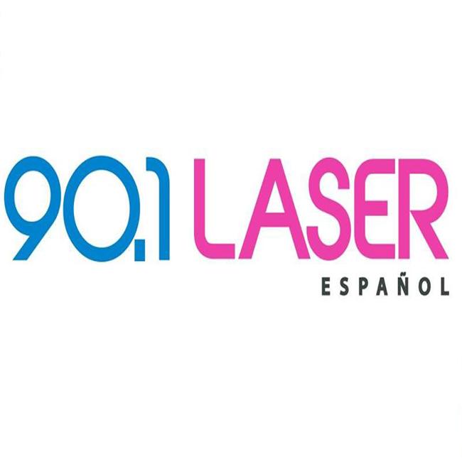 Logotipo de Laser Español 90.1 FM